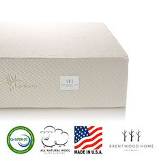 Brentwood Home Cypress Mattress Bamboo Derived Rayon Cover Gel Memory Foam Made in USA 11Inch Twin * Read more reviews of the product by visiting the link on the image-affiliate link. #ClassicFurnitures