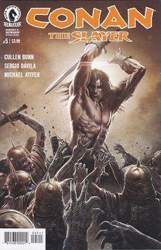 Conan the Slayer # 5 Dark Horse Comics Darkhorse Comics, Dc Comics, Conan Comics, Boris Vallejo, Sergio Davila, Comic Book Covers, Comic Books, Fantasy Castle, Fantasy Art