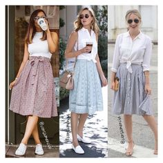 Chic outfits to rock at ur college! – Solutions to teenage problems Casual Skirt Outfits, Chic Outfits, Trendy Outfits, Dress Outfits, Casual Dresses, Dress Up, Casual College Outfits, Modest Fashion, Skirt Fashion