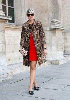 Elisa Nalin - Rojo y Leopardo