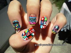 Travel Nail Art: 25 Awesome Examples | The HostelBookers Blog
