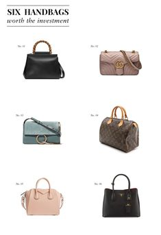 Liz Adams of Sequins   Stripes shares her favorite designer handbags that  are more than worth b2a255a0cc646