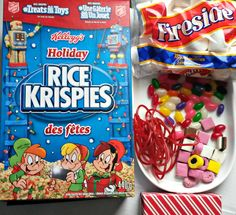 """I was beaming with pride when one of Miss T's playmates declared """"This is the BEST playdate EVER Shannon!!"""". After Miss Ts hockey game, one of her team mates needed to be babysat entertained while her parents ran errands. I prepared two trays of Kellogg's Rice Krispies treats and cut them in to shapes so …"""