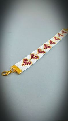Handgemaakte loom armband Beaded armband door StellaBlauneDesign