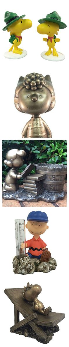 Move over, gnomes! Snoopy, Charlie Brown and the Peanuts gang are taking over the garden with beautiful garden ornaments, stepping stones, planters and rain gauges. Start shopping via CollectPeanuts.com to support our site.