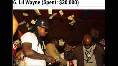 Rappers That Have Dropped The Most Cash In One Night