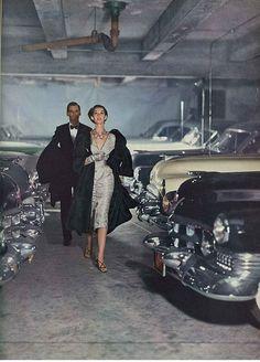 John Rawlings for Vogue, 1952.