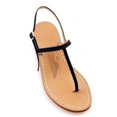 Sandalo Pamela - Sandali fatti a mano a Capri - Canfora