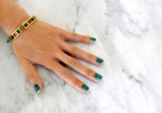 One of my favorites from my Song of Style Jewlery line is the malachite bracelet. I'm super into nail art lately so I decided to replicate the malachite design onto my nails! I mean St. …