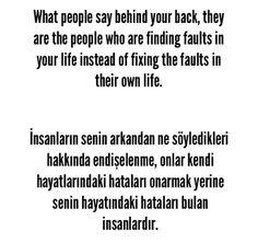 Turkish Lessons, Learn Turkish, English Sentences, Turkish Language, English Quotes, Good Advice, Nirvana, Learn English, Deli
