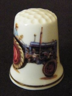 Thimble and a tractor