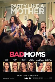 Bad Moms (2016), #poster, #mousepad, #tshirt #movieposters2