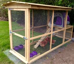 Eglu Classic in a home made chicken run