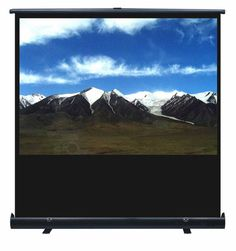 """Orion 100""""/ 2.1M 4:3 Pull-Up Floor Projection Screen from Noel Leeming"""