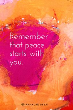 Remember that peace starts with you. Peace Quotes, Spiritual Quotes, Me Quotes, Healing Quotes, Qoutes, Carpe Diem, Positive Affirmations, Positive Quotes, Images Instagram