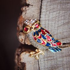 A Forest Owl Brooch to watch over you at night  #craft365.com