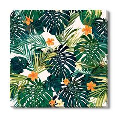 product image for Tropical Leaves I Canvas Wall Art