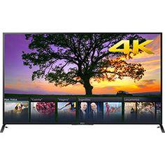 Smart TV LED 3D 70 Sony XBR-70X855B 4K Ultra HD 4 HDMI 3 USB Wi-Fi Integrado 240Hz