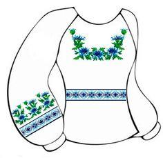 Бязевая белая детская вышиванка ВДБ-002 с поясом