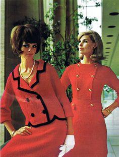 Vintage Vogue, Vintage Fashion, Holiday Suits, Vintage Dresses, Vintage Outfits, Columbia, High Fashion Dresses, Renaissance Dresses, Sixties Fashion