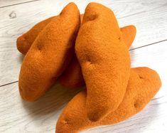 Pretend Play Felt Food Sweet Potatoes - Individual or as a Set