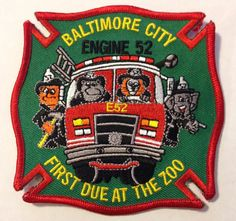 Baltimore City Fire Department Engine 52