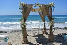 San Diego Beach Wedding, 760 722-1866, Beach Wedding Rental