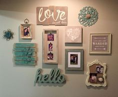 Pinterest Inspired Wall Gallery