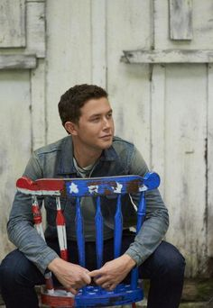 Scotty McCreery--he'll be playing at Carowinds in Charlotte, NC on August 16, 2014. Get your tickets at http://www.countryinthepark.com/