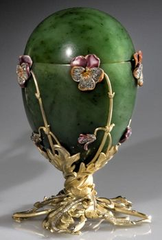 Pansy Faberge Egg, 1899