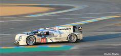 Porsche 919 Hybrid de Dumas/Jani/Lieb. Termina la course à la 11° place.