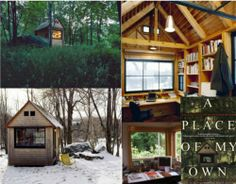 Author Michael Pollan's writing house in Connecticut.He built his himself!