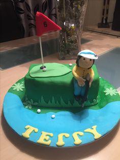 Terry's birthday cake 1 st cake I Made 2015