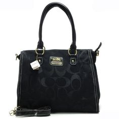 #CoachOutletStore Want To Get The Coach Top Zip In Signature Large Black Satchels APA? Will You Be Good Enough To Get It!