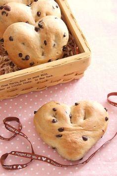 Valentine Chocolate Bread