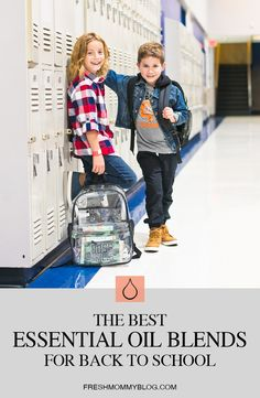 The Most Effective, Best Smelling Essential Oil Blends for Back to School!  From helping with focus, to essential oil recipes to prevent lice and keep germs at bay, were sharing all the ways to use essential oils for back to school. From Popular Florida Lifestyle blogger Tabitha Blue of Fresh Mommy Blog.