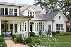 Traditional Home Exteriors, Colonial House Exteriors, Colonial Exterior, Dream House Exterior, Traditional House, Modern Colonial, Traditional Home Magazine, Colonial House Plans, Traditional Bedroom
