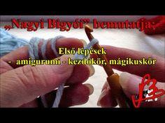 (22) Horgolóiskola 3.rész Oktató videó. Amigurumi, kezdőkör, mágikuskör - YouTube