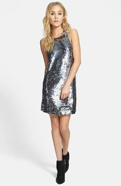 Line & Dot Sequin Racerback Dress available at #Nordstrom