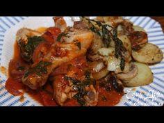 Юлия Высоцкая — Курица в томатном соусе с грибами и картофелем - YouTube
