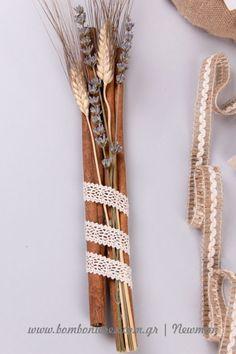 Φτιάξτε μόνοι σας μπομπονιέρες με στάχυα | bombonieres.com.gr Once Up A Time, Fairy Dolls, Boho Bride, Wedding Cards, Wedding Decorations, Diy Crafts, Lavender, Drawings, My Style