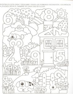 Crafts,Actvities and Worksheets for Preschool,Toddler and Kindergarten.Free printables and activity pages for free.Lots of worksheets and coloring pages. Numbers Preschool, Math Numbers, Preschool Worksheets, Preschool Learning, Kindergarten Math, Teaching Math, Preschool Activities, Number Worksheets, Math For Kids
