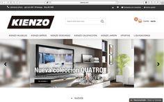 Ya tenemos la nueva WEB  www.kienzo.com , un entorno mas depurado y mas intuitivo, aprovecha para explorar todas nuestras categorías y encontrar el producto que necesitas para tu casa, pero no te pongas triste si no lo ves, pues mediante nuestro teléfono 957510828, nuestro whatsapp