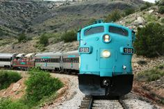 Take This Fall Foliage Train Ride Through Arizona For A One-Of-A-Kind Experience