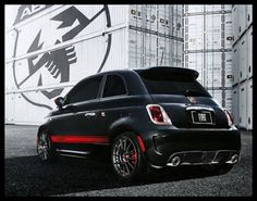 "5ooblog | FIAT 5oo: New Fiat 500 Abarth US: ""Small but Venomous"""