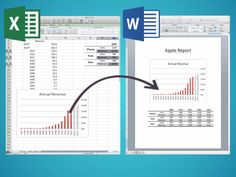 Excel Trick Will Make Your Reports So Much Better Excel to Word - Genius!Excel to Word - Genius! Computer Help, Computer Programming, Computer Science, Computer Tips, Computer Works, Excel Tips, Excel Hacks, Excel Budget, Budget Spreadsheet