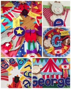 Circus carnival bunting banner by Bettybuntings on Etsy https://www.etsy.com/uk/listing/232633729/circus-carnival-bunting-banner