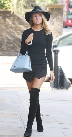 Kimberly garner in a wrap skirt <3
