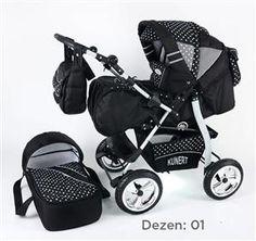 Kunert VIP kolica za bebe, set 3u1 dezen 01