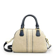 Biennial linen-leather medium satchel - bags - Women's Women_Shop_By_Category - J.Crew
